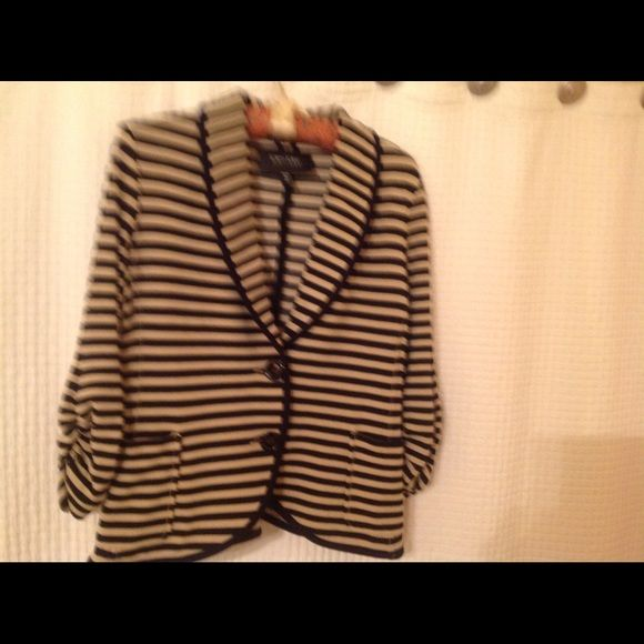 Karen Kane's jacket Karen Kane size medium tan black gorgeous jacket Karen Kane Jackets & Coats Blazers
