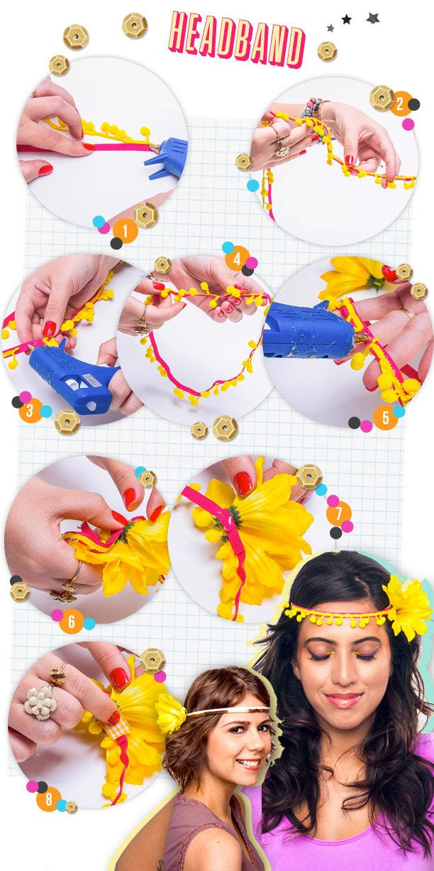 DIY de carnaval: tiaras e headbands pra arrasar nos blocos - Modices