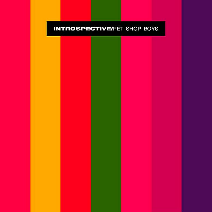 Pet Shop Boys - Introspective ( EMI-Manhattan 1988 - Design: Mark Farrow/ At Three Associates)