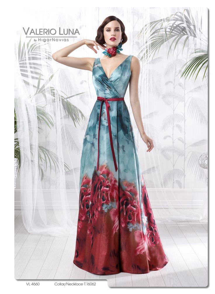 VL 4660  (Vestido de Fiesta). Diseñador: Valerio Luna. ...