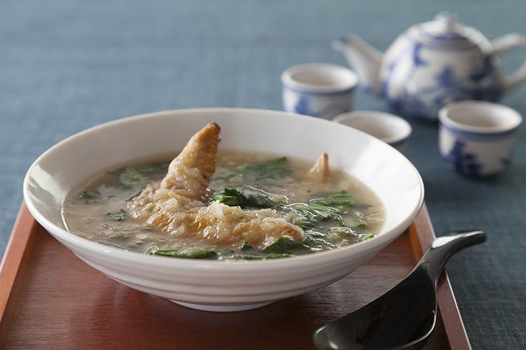 手羽先の大根おろしスープ