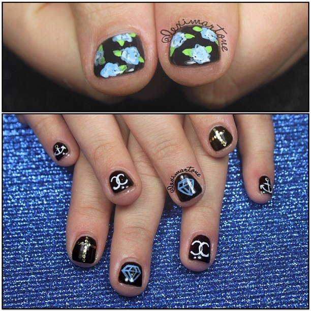 743 Best Nails Mix And Match Images On Pinterest