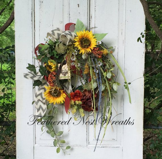 69 best Front Door Wreaths images on Pinterest | Entrance ...
