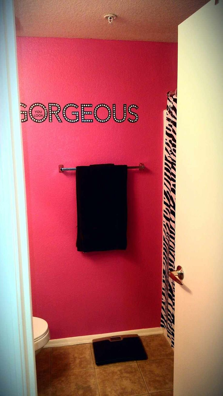 10 best bathroom decor ideas - pink and black images on pinterest