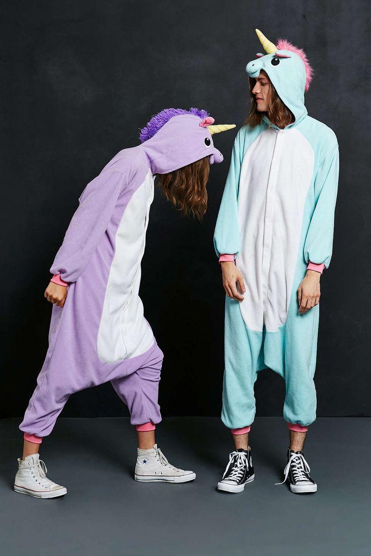 Kigurumi Purple Unicorn Costume