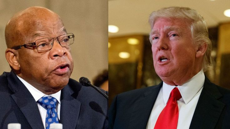 Civil rights legend John Lewis latest target of #DonaldTrumps Twitter burst #MovieTVTechGeeks via @MovieTVTechGeeks