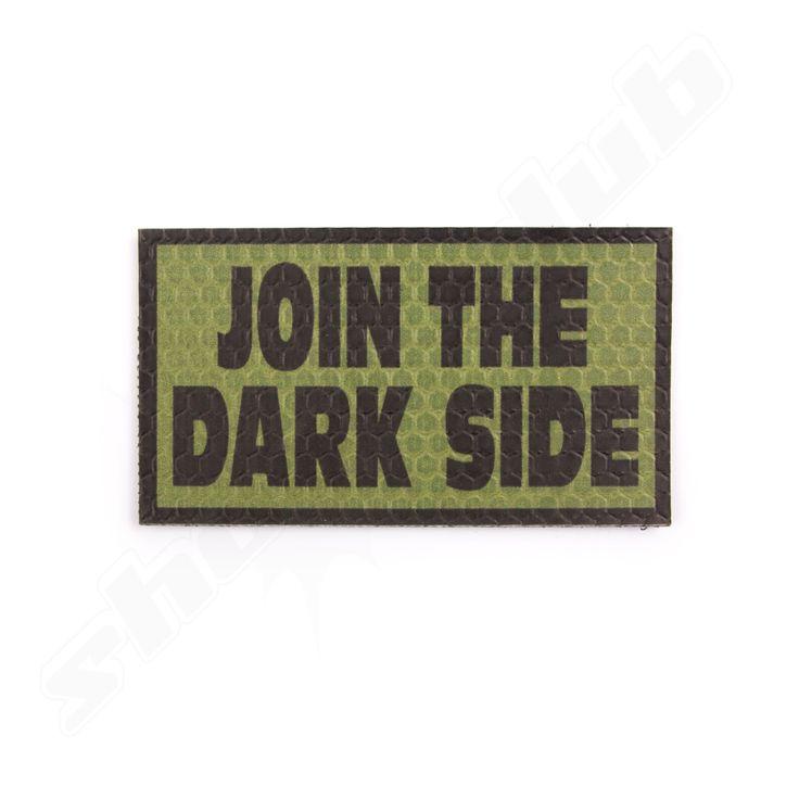 "IR Reflektor Moral Patch ""Join the Darkside"" OD"