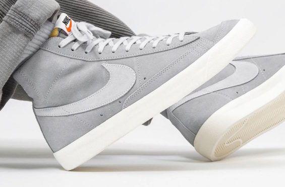 Nike Blazer Mid '77 Wolf Grey Release