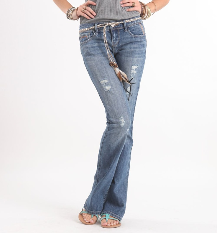 i love this vintage-modern hippie peace style. #bullheadblack #pacsun: Faded Belts, A Mini-Saia Jeans,  Blue Jeans, Belts Micro, Belts Jeans,  Denim, Faded Jeans, Micro Jeans, Bullheadblack