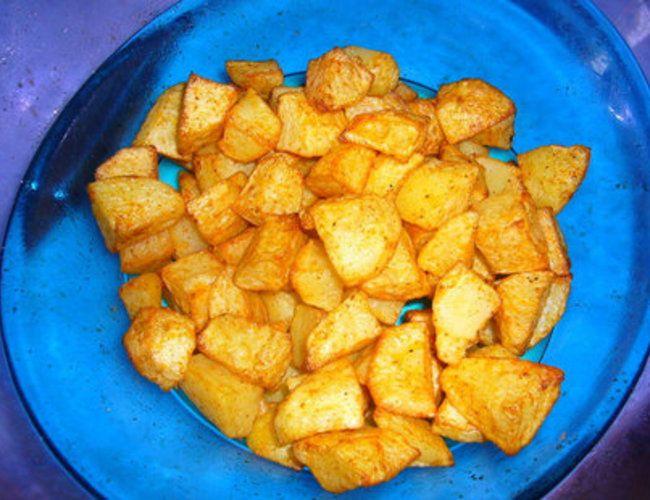 Paprika-Kartoffeln aus dem Airfryer   erdbeerlounge.de