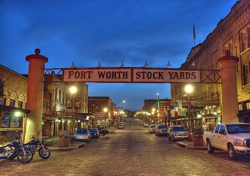 Fort Worth, TX ... Lived here