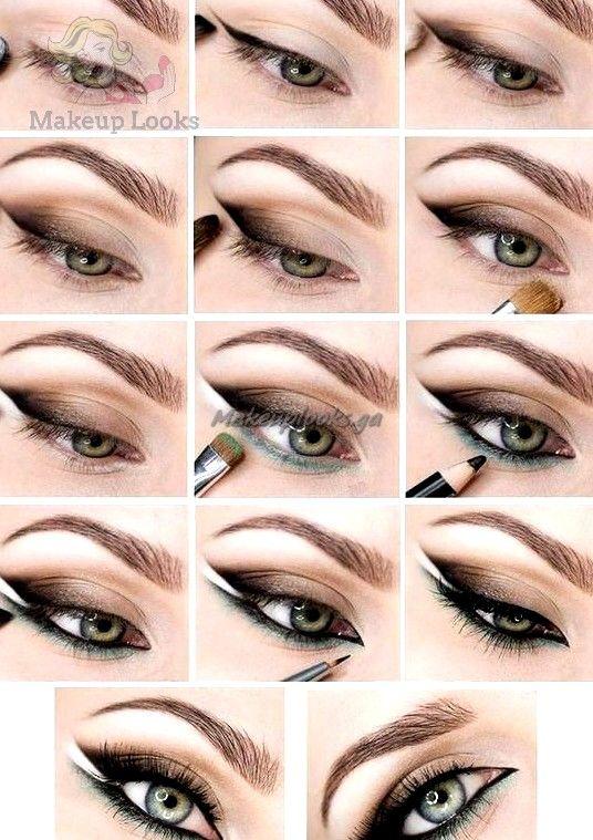 Stilunterricht: 15 beste Ideen für Augen Make-up mit Anweisungen