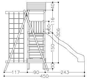 Download wood jungle gym plans pdf wood decks plans for Wooden jungle gym plans