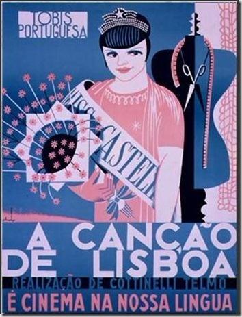 Movie Ad, 1930 | Portugal