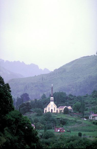 St Joseph's Church, Jerusalem[Hiruharama], Whanganui River, N.Z.  [Built approx 1892-93]