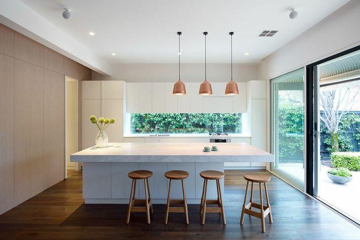 #decoración #interiorismo #diseñodeinteriores Una casa contemporánea en Melbourne. Más en: http://greenandfreshdecor.blogspot.com.es/2014/06/una-casa-contemporanea-en-melbourne.html