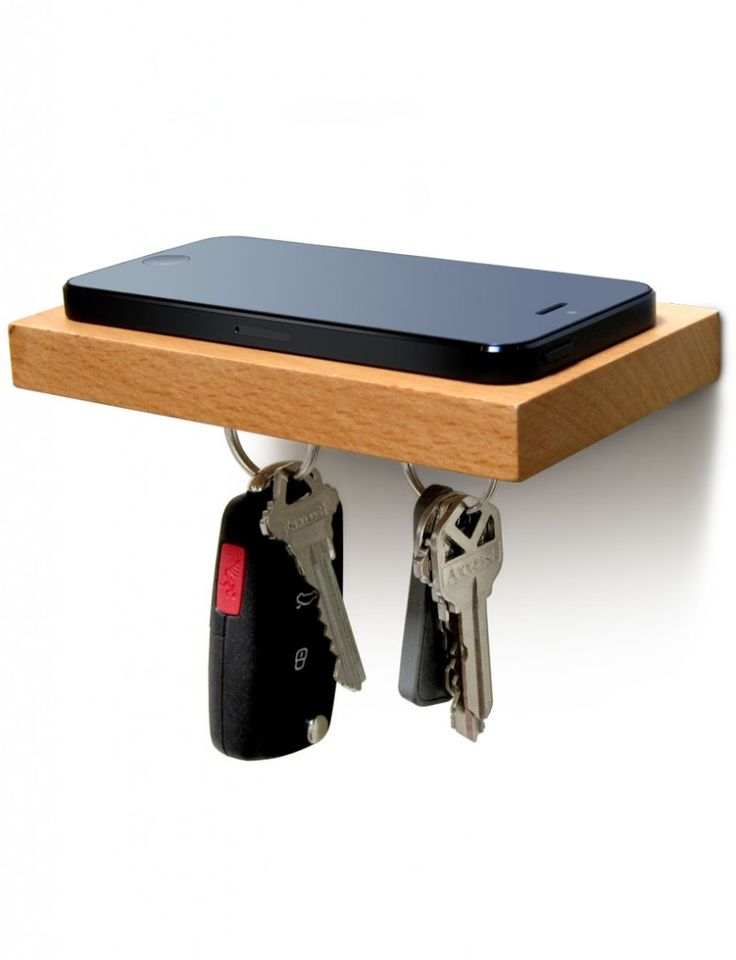 PLANK shelf with magnetic underside.