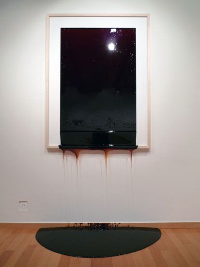 Jonas Etter-burnt sugar, its solid first then melts throughout the private view