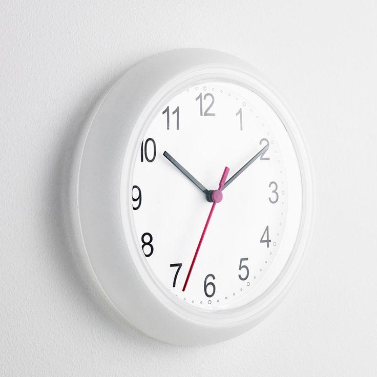 2017 Transparent Wall Clocks Electronic Quartz Plastic ABS Clocks 10'inch Home Decoration Big Wall Clocks