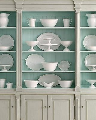 Milk glass collection Beautiful Ways to Display & Organize Collections