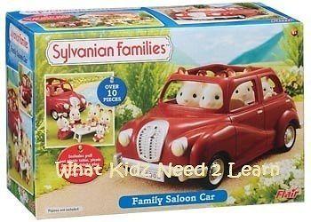 ♥ Sylvanian Families - Family Saloon Car Toy Girls Boys Toy Pretend Play Gift  ♥