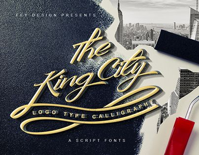 "Check out new work on my @Behance portfolio: ""King City Free Font"" http://be.net/gallery/40630383/King-City-Free-Font"