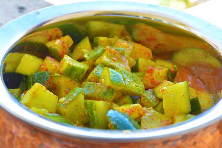 Instant Cucumber Pickle Recipe
