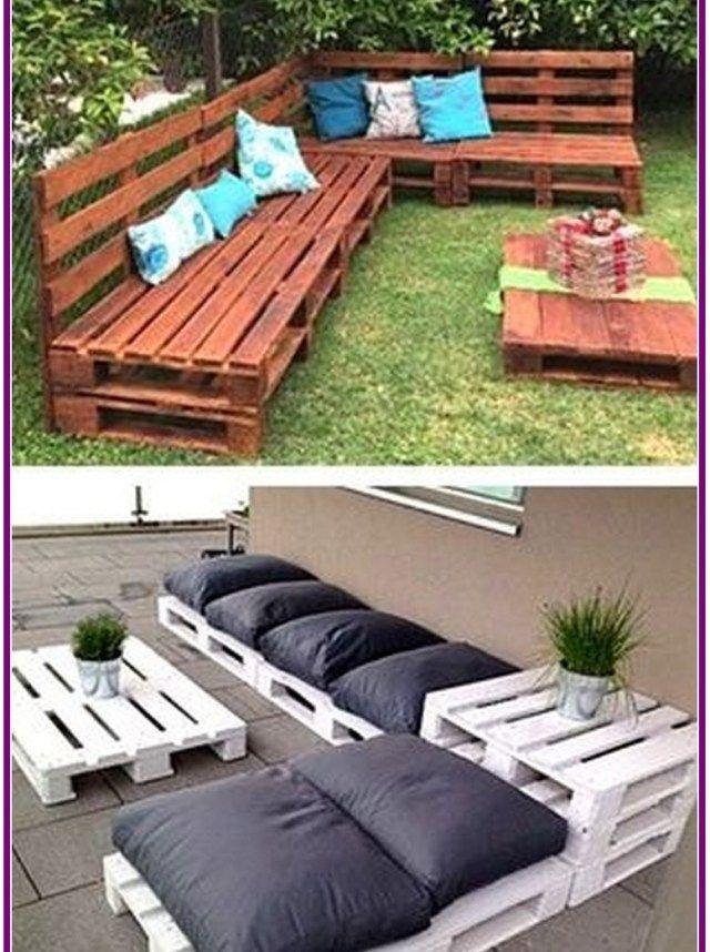 26 Inspiring Wooden Pallet Sofa Designs Aoneperfume Backyard