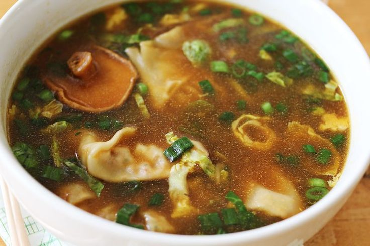 Halfway Homeade asian dumpling soup. Could make with premade postickers or make my own potstickers and use with left overs. Make big batch and freeze individual portions for lunches.