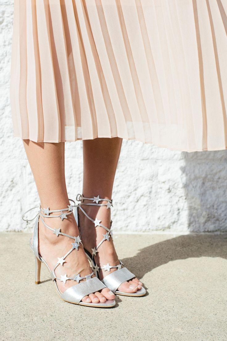 LR x Kate Brien featuring the Arielle Ankle-Wrap Sandal