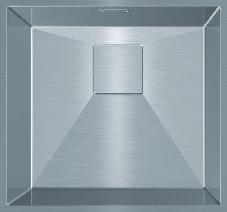Franke PURE PUX 110-34, Bowl size: 340 x 420 x 180mm/22L