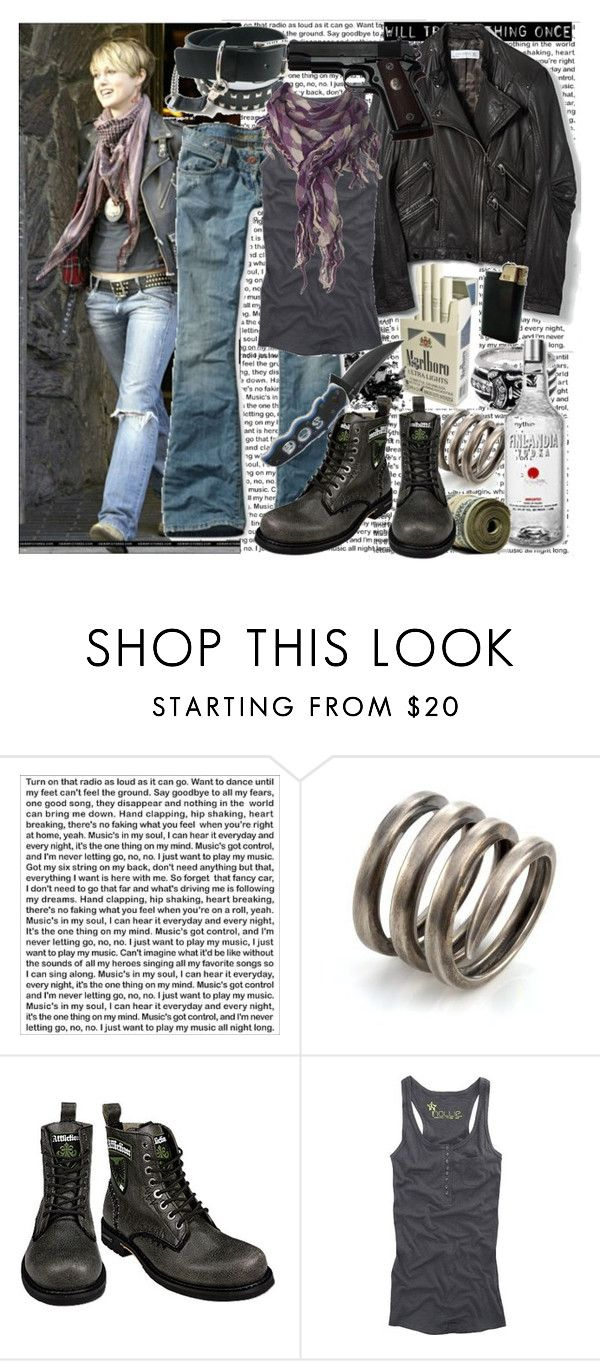 """""""domino harvey"""" by zoli ❤ liked on Polyvore featuring PBteen, Elizabeth and James, Zara, American Eagle Outfitters, Affliction, Nollie and Dorothy Perkins"""