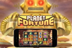 Play the new Planet Fortune #slot from Play'n Go for wins of up to 2,500x your bet with a Robot Revolution and Magnetic Fortune bonus feature- https://wheeloffortune-slot.com/planet-fortune-online-slot/