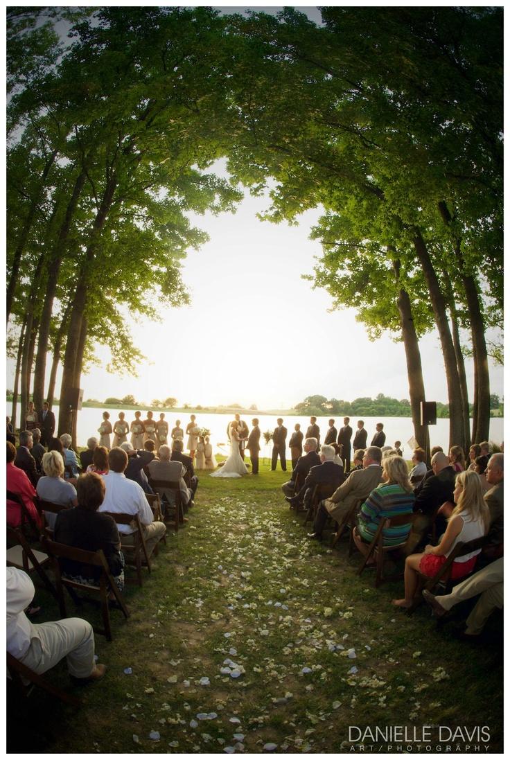 Wedding Ceremony Outdoor Weddings Photography Nature Brides