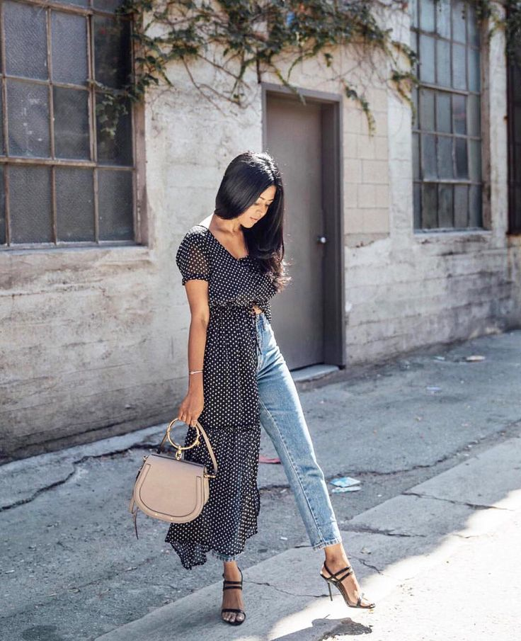 "11k Likes, 86 Comments - Who What Wear (@whowhatwear) on Instagram: ""Today is day 3 of our summer style challenge and we want you to layer your maxi dress in an…"""