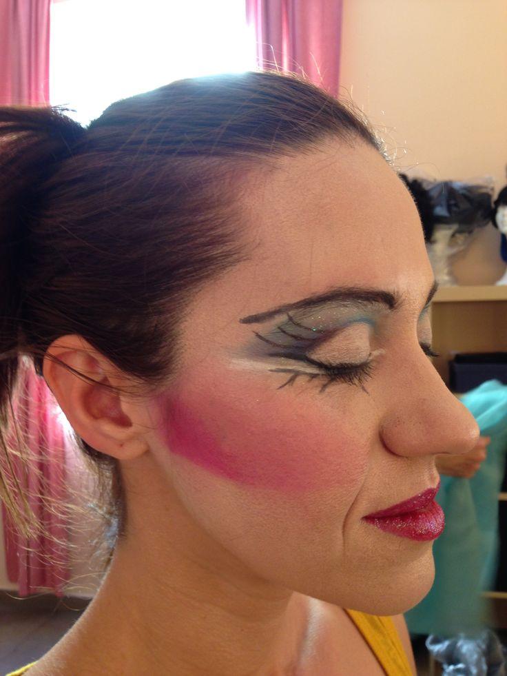 Maquillaje bailarina