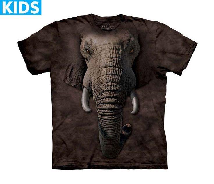 Elephant T-Shirt | Elephant Face Kids