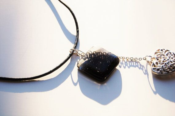 Hey, I found this really awesome Etsy listing at https://www.etsy.com/no-en/listing/271009062/light-at-heart-necklace-black-and-clear