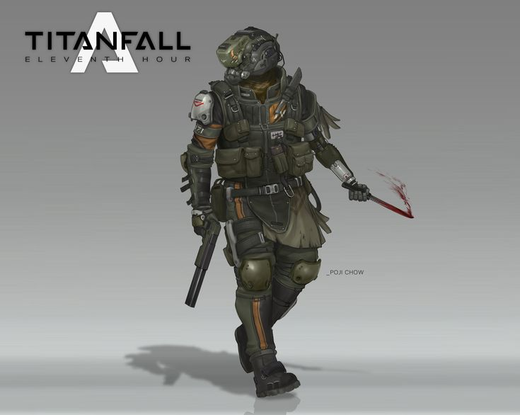 ArtStation - Raiders Pilot - Titanfall Fan Art, Poji Chow