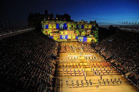 SCOTLAND: Edinburgh Military Tattoo part of the festivities of the Edinburgh Festival ~ 2013 9 August - 1 September