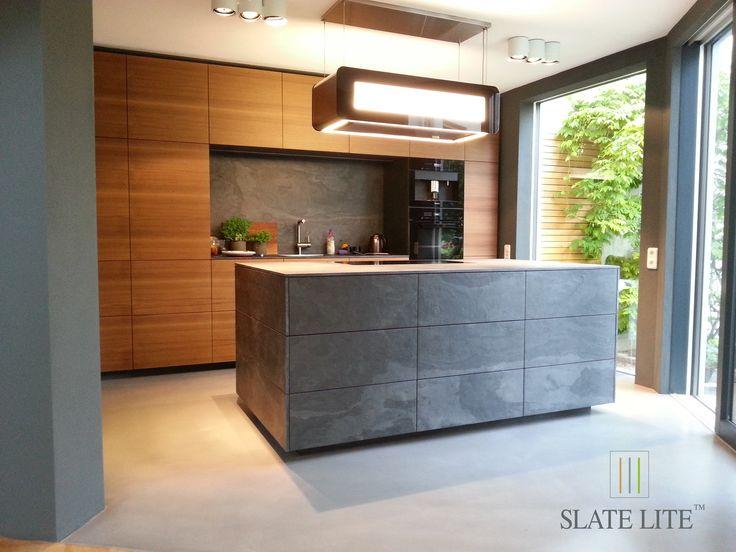 A konyhában is tökéletesen mutat - Slate Lite Negro