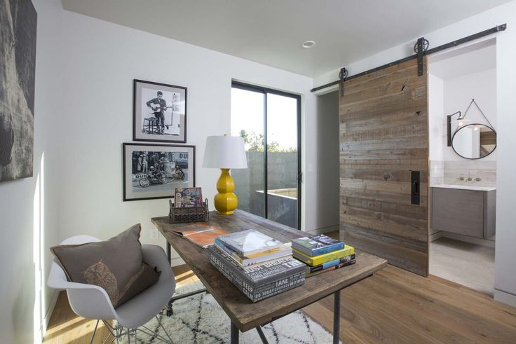Modern dream home in los angeles with bright and airy - Modern interior doors los angeles ...