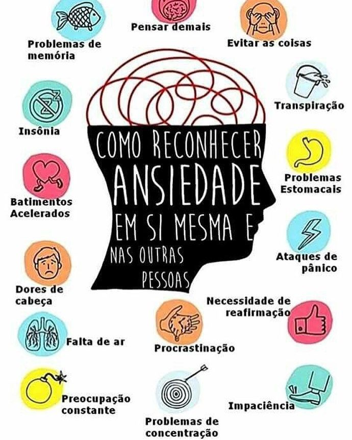 sintomas de stress emocional e ansiedade