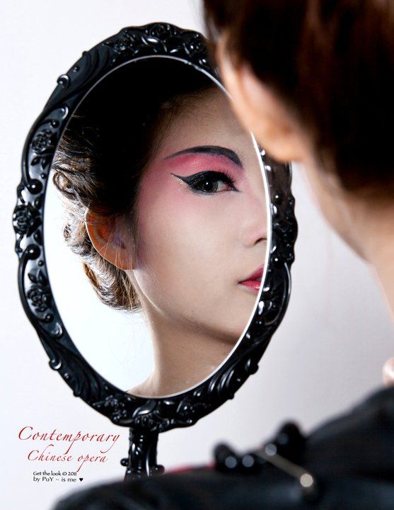 Contemporary Chinese Opera Makeup Tutorial's Video  This time is the most popular Chinese festival. It is Chinese New Year.