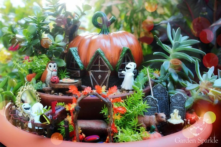 16 best Halloween Fairy Garden Ideas images on Pinterest