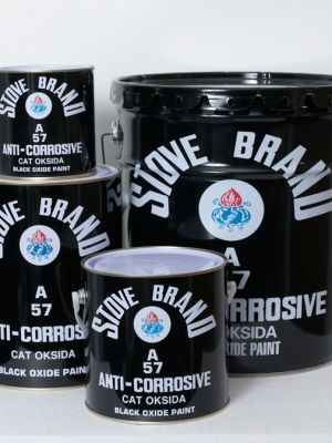 57A Anti-Corrosive Black Oxide :  is specially formulated for painting on all kinds of iron and steel surfaces.