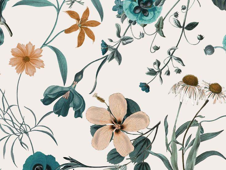 FW1516 Botanic Florals Print on Behance