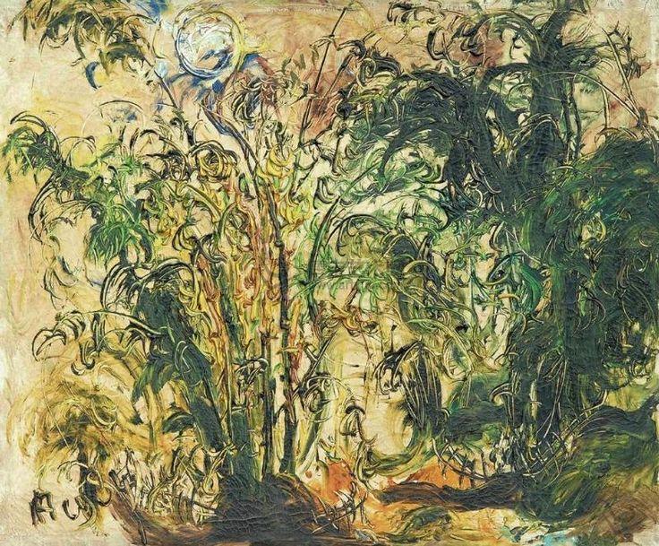 Lillith's Place :  'Bamboo Tree', 1984 - Affandi (1907-1990)