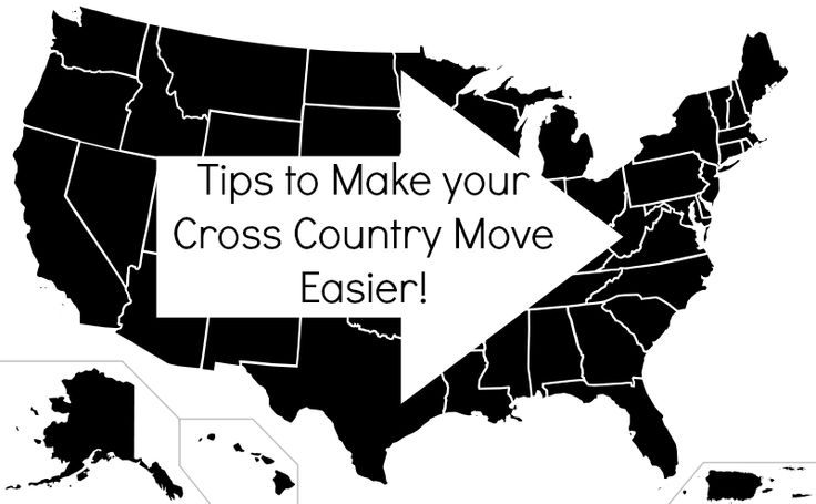 Tips to make a cross country move easier! With dogs too!