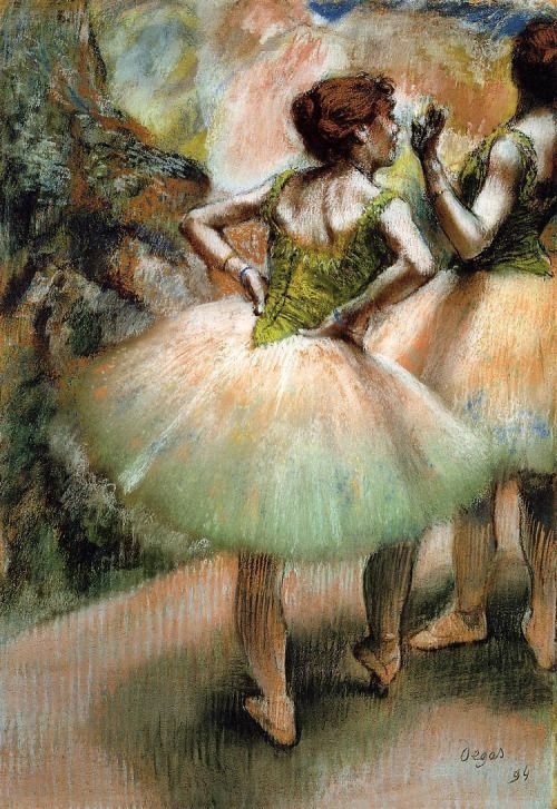 Dancers, Pink and Green ~Edgar Degas